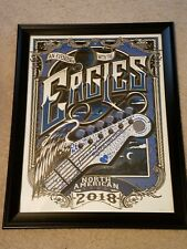 Eagles 2018 North American Tour Poster (Numbered Edition) Original SOLDOUT rare