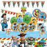 TOY STORY Boys Girls Children Birthday Party Tableware & Decorations