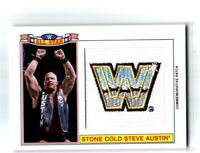 WWE StoneCold Steve Austin 2016 Topps Heritage All-Star Patch Relic Card 121/299