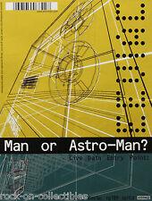 Man Or Astro-Man? 1999 EEVIAC Promo Poster Touch & Go Records Original Rare