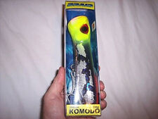 "Salt Water Deep Sea Fishing Lure Popper Komodo Tantrum Fish Lure 8"" Ocean Lure"