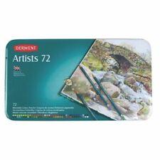 Derwent Artists Professional Blendable Colour Pencils 72 Tin Set