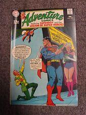 """Adventure Comics #377 (1969) """"Heroes for Hire!"""" * Dc Comics *"""