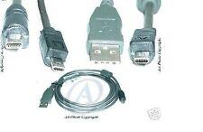 Cavo USB per Nikon Coolpix 4200 4600 L1 S4 SQ 7900 P4 UC-E6
