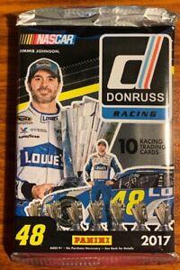 2017 Panini Donruss Nascar Racing Retail Pack Unopened NIP Free Shipping
