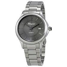 Ferragamo Time Automatic Grey Dial Mens Watch FFT050016