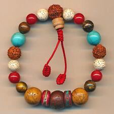 Modeschmuck-Armbänder im Gummiarmband-Stil mit Türkis-Hauptstein