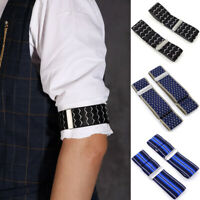 Elastic Adjustable Shirt Sleeve Garter Strap Arm Band Sleeve Cuff Holder Armband