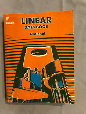 Linear Data Book National Semiconductors April 1976