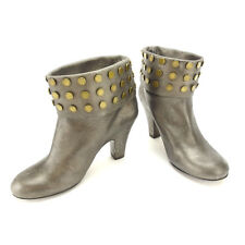 Marc By Marc Jacobs boots Bronze Gold Woman Authentic Used L392