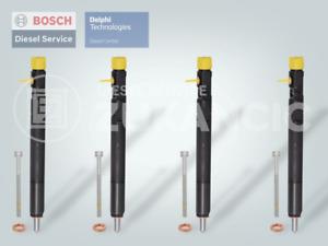 4 xEinspritzdüse Injektor DELPHI Mercedes C/E 200 220 CDI EJBR04201D A6460700987