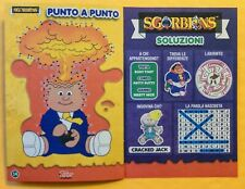 GPK ITALY: SGORBIONS Activity Book (NEW / UNUSED) Garbage Pail Kids HTF RARE!