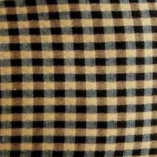 NEW Longaberger KHAKI CHECK Fabric LINER for the TALL KEY Baskets- Largest 1of 3