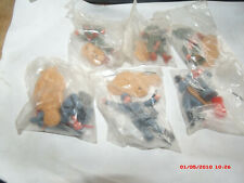 VINTAGE 1970S UNOPENED TIMPO TOY SOLDIERS.GERMAN  AND AMERICAN.5 PACKAGES RARE