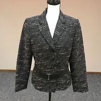 TAHARI by Arthur S. Levine Women's Blazer Jacket Black/White size 10