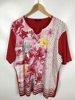 ATTENTION COLLECTION T-Shirt, mehrfarbig, Größe 48, 100% Baumwolle