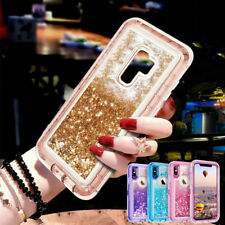 Glitter 360° Case Heavy Duty Bumper Shockproof Cover for Samsung S20 Plus S10 S9