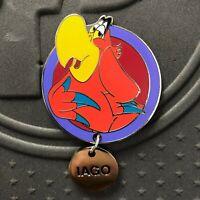 Disney WDW Fairy Tails Villain Pets Iago Aladdin Pin LE 250