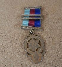Royal Masonic Arch Companions Breast Jewel Sterling silver gilt .medal 2