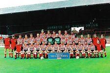 SUNDERLAND FOOTBALL TEAM PHOTO 1992-93 SEASON