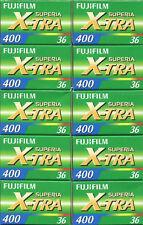 Fujifilm Superia 400 36exp Film - 10 Rolls
