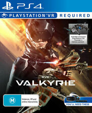 Eve Valkyrie PSVR PS4 * Import * Brand New & Sealed Sony Playstation 4 Game *