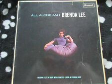 Brenda Lee ‎– All Alone Am I  Brunswick ‎– LAT 8530 MONO UK Vinyl LP album