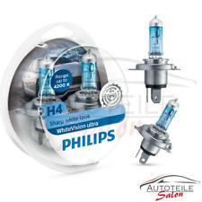 Philips WhiteVision ULTRA H4  4200k bis zu 60% mehr Halogenlampe 12342WHUSM