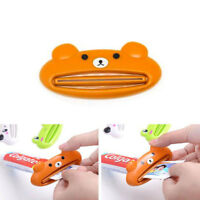 Presse Tube Distributeur Dentifrice Animaux Grenouille Panda Ours Cochon - NeuF