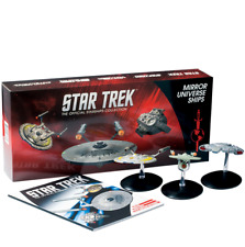 Eaglemoss Mirror Universe Star Trek Box Set Starships Collection ~ Enterprise