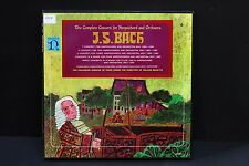 LP: J.S. Bach The Complete Concerti for Harpsichord & Orchestra Nonesuch 5LP
