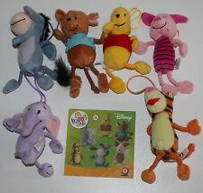McDonald's MC DONALD'S HAPPY MEAL - 2005 Disney Winnie The pooh Serie completa