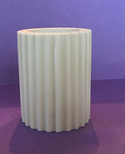 """NEW-OLD STOCK: 2-1/2"""" RIBBED PORCELAIN CHINA LAMP BREAK SPACER 40+ YEARS OLD"""