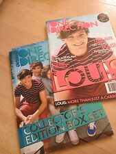 ONE DIRECTION ISSUE 1 OF 5. LOUIS PLUS POSTER AND BOX SET COVER