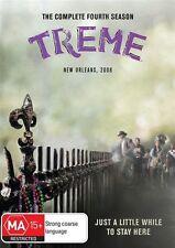 Treme : Season 4 (DVD, 2014, 2-Disc Set)  New, ExRetail Stock, Genuine D75
