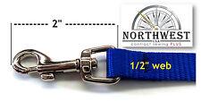 Swivel Snap Barrel Hook for 1/2 inch webbing Great for Pet Leash Nickle 1 hook