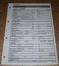 Inspektionsblatt Honda Accord 2.0i LS/ES - ab 1999!