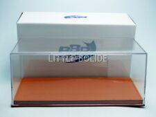 BBR 1/18 BOITE-VITRINE Show-Case 1/18 - Base Cuir Marron VET1804C1