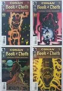 Complete 4 Comic Set: Conan The Book of Thoth - Dark Horse 2006