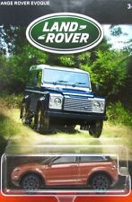 2016 Matchbox LAND ROVER ANNIVERSARY 2016 RANGE ROVER EVOQUE SUV mint on card!