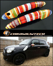 MINI Cooper R50 R52 R53 R55 R56 R57 R58 R61 Muti Color Stripe Door Handle Covers