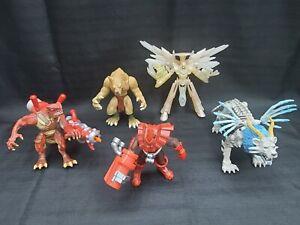 Lot of 5 Duel Masters 2003 Hasbro Shogakukan Wizards Mitsui-kids Action Figures