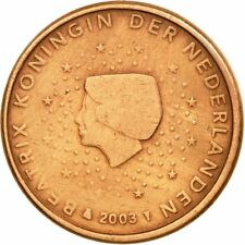 [#584219] Nederland, Euro Cent, 2003, ZF, Copper Plated Steel, KM:234