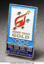 OLYMPIC PINS 2004 ATHENS GREECE MORE THAN GOLD