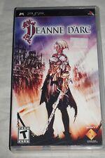 Jeanne D'arc (Sony PSP Playstation Portable) w/ Case