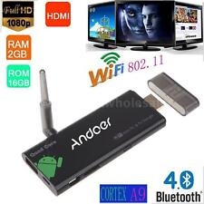 CX919 Android4.4 Mini PC Box TV Stick Quad Core 2G/16G Bluetooth WIFI 1080P DLNA