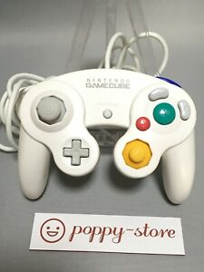 -white- Official OEM Nintendo Gamecube Controller Pad Japan Import