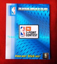 Official 2017 NBA All Star Game JBL 3-Point Contest small collectible patch