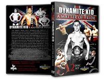 Dynamite Kid Documentary DVD, Wrestling WWF WWE All Japan British Bulldogs AJPW