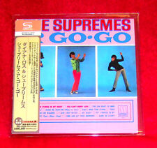 Diana Ross & The Supremes A Go Go SHM MINI LP CD JAPAN UICY-75224